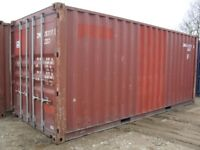 Self Storage Shipping Container for Rent 20x8 Ft
