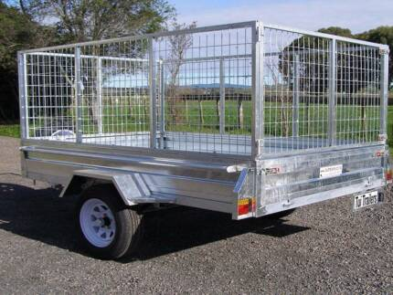 $30 hire 8×5 cage trailer