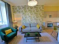 Beautifully refurbished one bedroom furnished flat in popular Morningside, Edinburgh