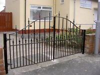 DIRECT STEEL FABRICATION'S . GATES, RAILINGS, WINDOW GUARDS, STRUCTURAL WORK
