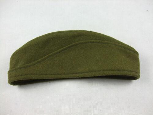 WWII Czechoslovak Green Wool Side Cap