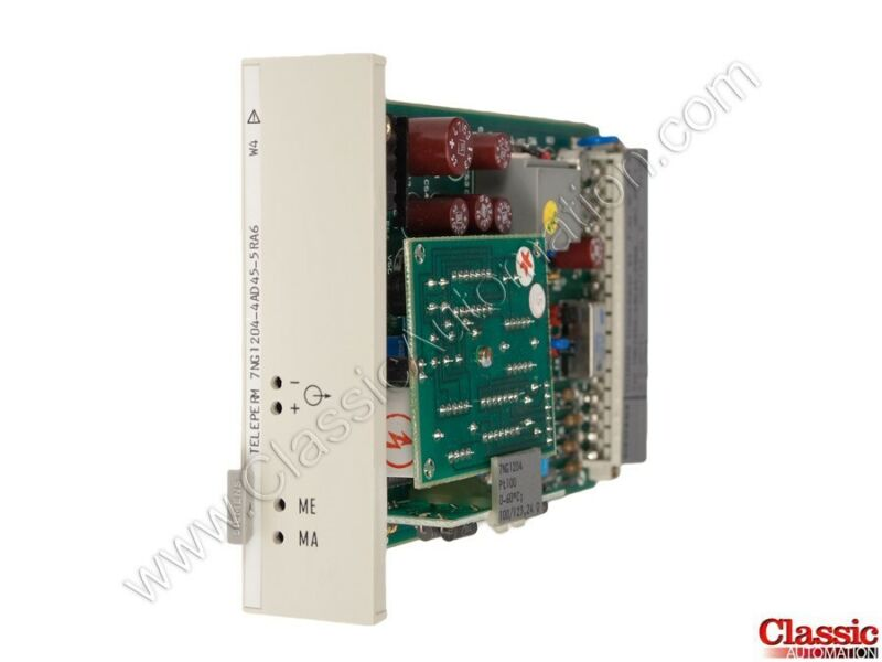 Siemens| 7NG1204-4AD45-5RA6 | Temperature Transmitter Module (new)