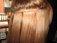 Semi permanent hair extensions!!!