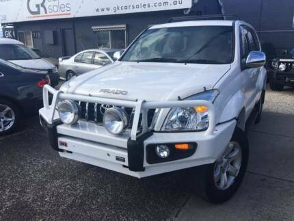 2004 Toyota Landcruiser Prado GXL  8st Auto 4×4 ( Finance $85PW*) Dandenong Greater Dandenong Preview