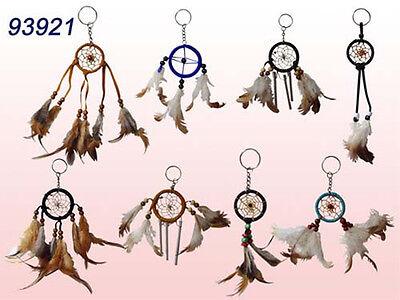 Handmade  Dream Catchers Key Rings   Wholesale  12 Pc Lot  ( NpDc7 ^*)