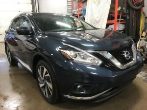 2017 Nissan Murano AWD*PLATINUM*GPS*TOIT*CUIR*MAG*