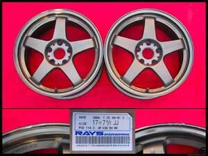 Mazdaspeed MS-01S pair 17x7.5 +30 5x114.3 wheels JDM Rays SSR Kalorama Yarra Ranges Preview