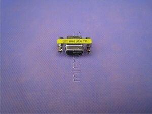 VGA SVGA Female to VGA Female 15pin F/F Gender Changer Adapter Connector