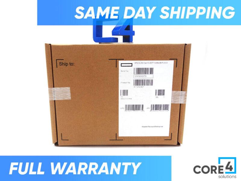 HP 871242-B21 DL360 G10 SFF NVME BACKPLANE KIT *New Sealed*