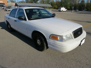 2009 FORD CROWN VICTORIA P71 POLICE INTERCEPTOR