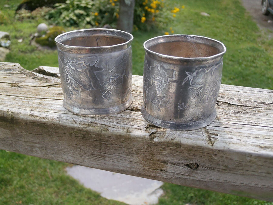 What to Look for in Vintage Silver Napkin Rings