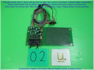Accelerometer Amplifier Pcb Without Wilcoxon Research Sensor As Photo Snxxxx.