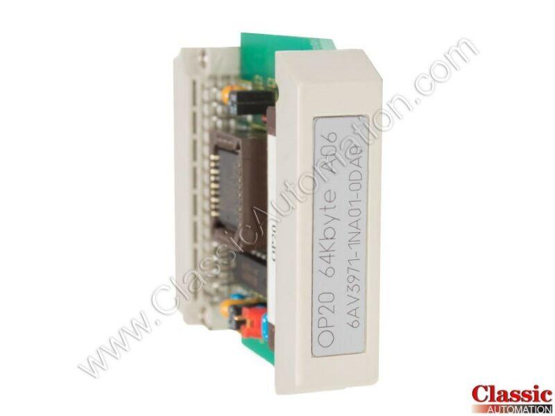 Siemens   6AV3971-1NA01-0DA0   OP Memory Module (Refurbished)