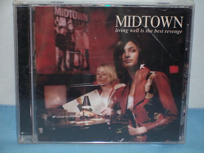 Living Well Is The Best Revenge By Midtown 2002 CD MCA Records Drive-Thru