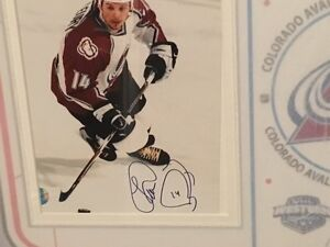 Theo Fleury Signed Pic with COA