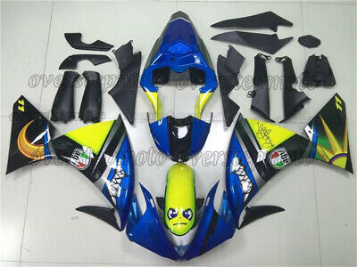 Injection Mold Fairing Bodykits Plastics Set Fit for YZF R1 2009 2010 2011 aAE