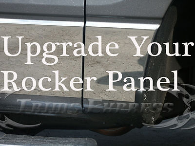 Rocker Panel Upgrade to Best 304 Stainless Steel Life Time Warranty Stain