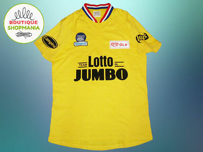 LOTTO JUMBO NL TEAM CYCLING (L XL) JOOP ZOETEMELK Limited Edition Yellow  shirt 97271c417