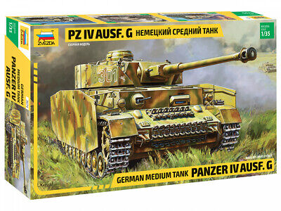 Zvezda 3674 - 1/35 German medium tank Panzer IV Ausf.G - Neu