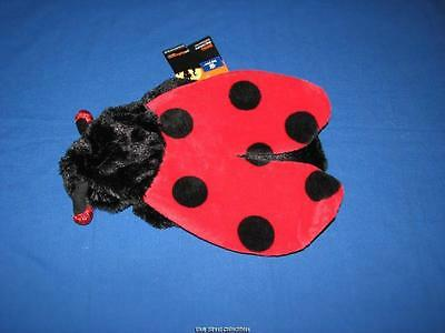 Top Paw Super Soft Plush LADYBUG Halloween Dog Pet Costume - Super Dog Halloween Costume