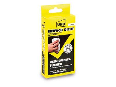 Reinigungstücher UHU EINFACH DICHT 4 Stück.   - Einfache Reinigungstücher