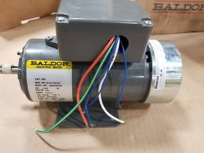 New Baldor Ac Motor 0.2kw 230vac 3 Phase 5060hz Stearns 32174a1k0hld Brake