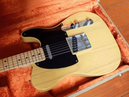 Fender Telecaster American Vintage AVRI 52 with Lollar pickups