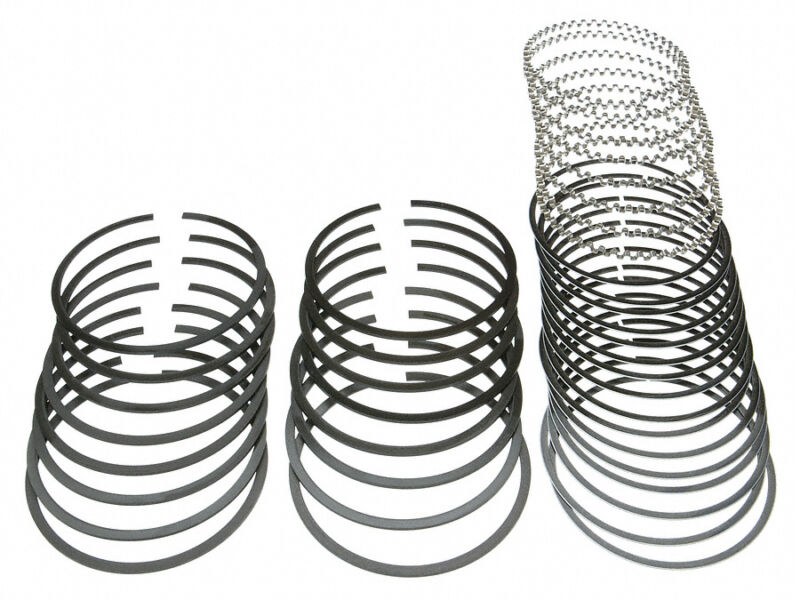 Chevy 3505 7 Lt1l98 Perfect Circlemahle Cast Piston Ring Set 1990