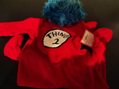 POTTERY BARN KIDS THING 2 COSTUME SIZE: 6-12 MONTHS HALLOWEEN