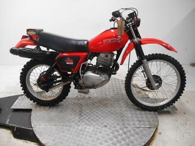 1979 Honda XR500 Enduro Unregistered US Import Barn Find Classic Restoration