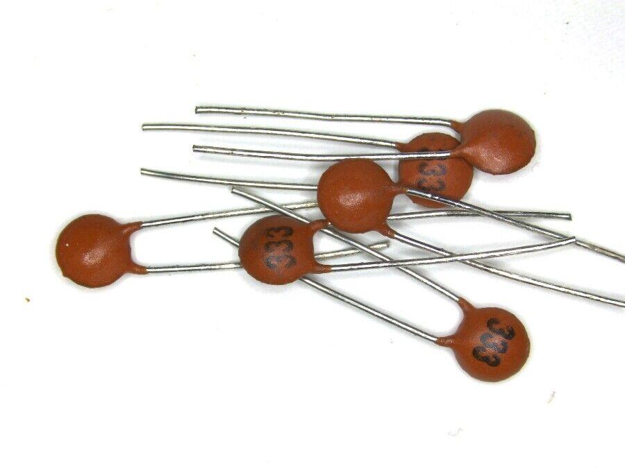 10x oder 20x Keramik Scheiben Kondensator - Auswahl Ceramic Disk Capacitors