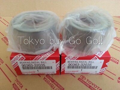 Lexus IS300 ALTEZZA Front Axle Hub Bearing Pair NEW Genuine Parts 90363-32035