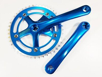 Mountain Road Bike Gold CDH 44T Single Speed Crankset 170mm Crankarms 110 BCD