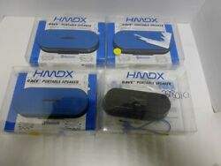 HMDX Rave Portable Rechargeable Wireless Speaker, Blue FOR PART