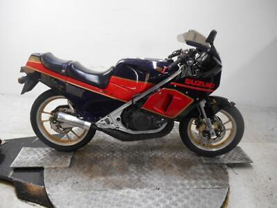 1987 RG250 Gamma MKIII Walter Wolf Unregistered JAP Import Running Restoration