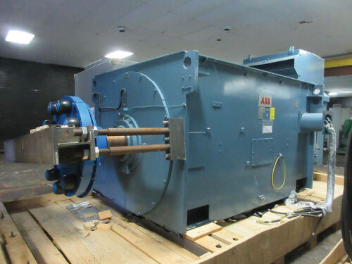 ABB Wound Rotor 7500 HP 900 RPM ABB Electric Motor, Wound Rotor Slip Ring NEW