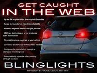 BlingLights Custom LED Spider Light Bulbs for Chevrolet Sonic Tail Lamps