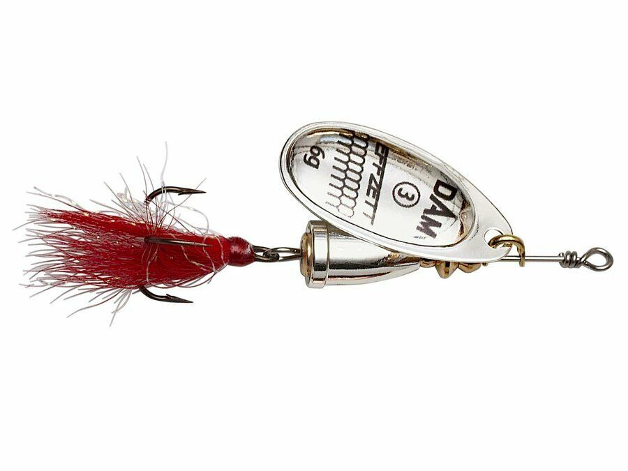 D.A.M Effzett Standard Spinner Dressed #4 10g Spinner COLORS