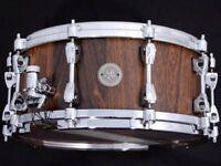 tama starphonlc 14x6 bubinga snare drum,new