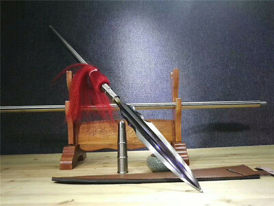 Fighting Sword - High Quality Hunting Fighting Spear Spearhead Sword Strong Sharp Damascus Steel