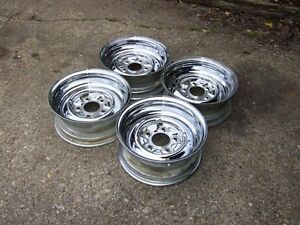 Wanted: chrome reverse wheels