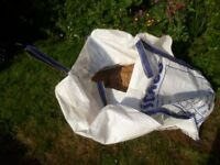 HALF TONE BAG OF BALLAST NOT USED-