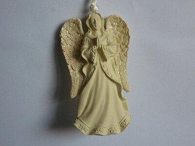 ANGELO DA APPENDERE albero di Natale decorazioni casa spiritualità meditazione