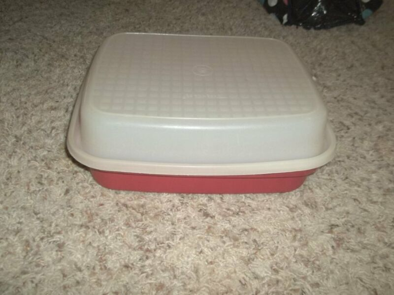 Excellent TUPPERWARE Covered Container 10 x 12""