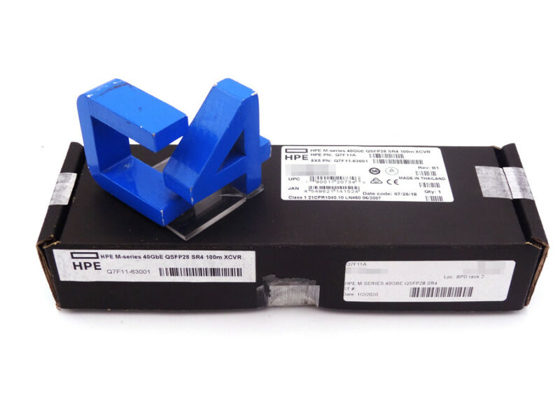 Hp Q7f11a  M-series 40gbe Qsfp28 Sr4 - 880973-001