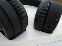 Bluetooth Headphones Wireless built-in microphone Earphones foldable membrane