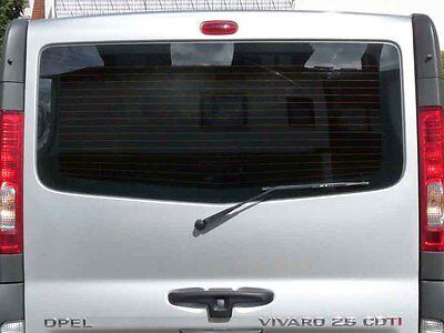 Tönungsfolie passgenau 3D-vorgewölbt Nissan Primastar Heckklappe kurzer Radstand