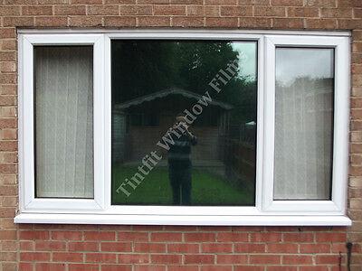 Reflective Green 20 Solar Mirror One Way Window Tinting
