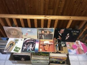Lot of Vinyl (Mostly Country)