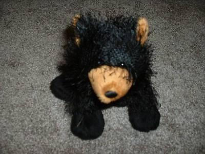 Webkinz Black Bear Plush Toy Stuffed Animal 8